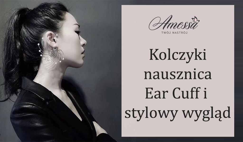 Kolczyki nausznica Ear Cuff firmy amessa.pl